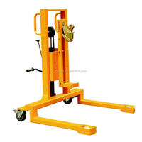 Manual Type Hydraulic Drum Lifting Truck 350KG Capacity