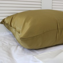 Best Quality 100% Mulberry Real Satin Silk Handmade Pillowcase