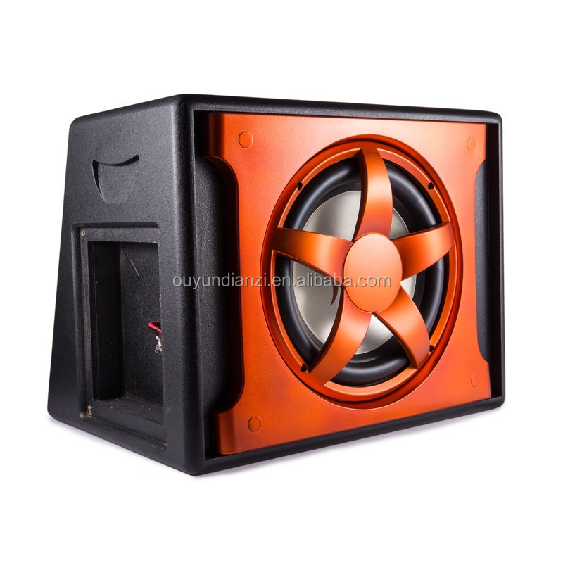 "2015 new product 10"" sub woofer car with red or siverly subwoofer basket"