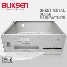 Sheet metal computer case customized fabrication and manufacture