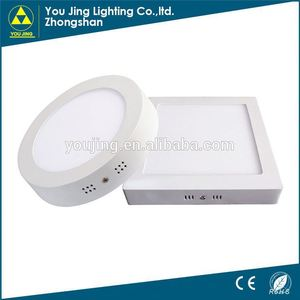 Factory direct sale led panel light for tv rgb led round panel light 15w price