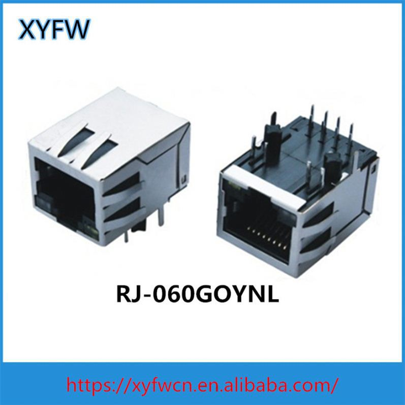 Rs232 To Single Port Rj45 Adapter Female Connector 0826-1X1t-57-F
