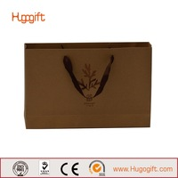 Durable Classical Kraft Paper Bags For Shopping Packing