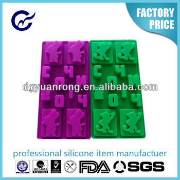 New Fashion Custom Silicone Ice Tray
