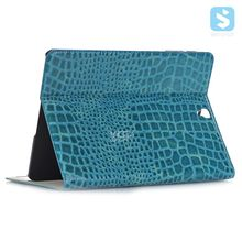 for SAMSUNG Galaxy TAB S3 (9.7) / T820/ T825 crocodile pu leather tablet case with card slot