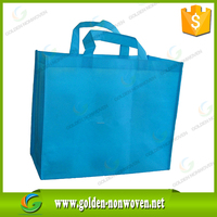 China supplier recycles foldable nonwoven fabric bag/ hot presssing non-woven shopping tote bag/polypropylene non woven bags