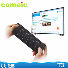 android tv box wireless keyboard with remote control air mouse