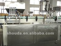 automatic ponzu sauce filling and capping machine