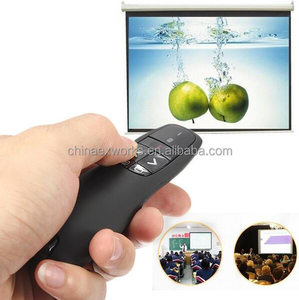 High quality wireless laser pointer presenter for business men and teachers pen mouse wireless laser pointer for promotion