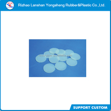 Low price white transparent round flat silicone rubber gasket for bottle