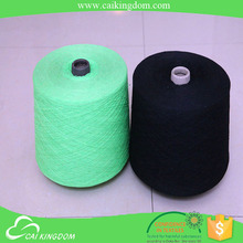 specialized yarn manufacturer Recycled 50% cotton 50% polyester high twist cotton yarn