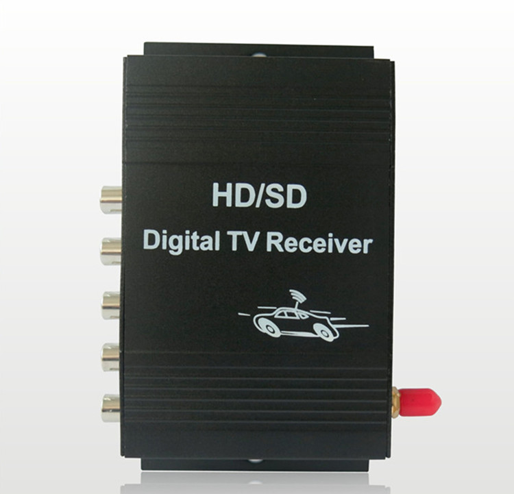 New HD full seg mobile digital car dvb-t2 tv receiver with antenna Turner for JAPAN market