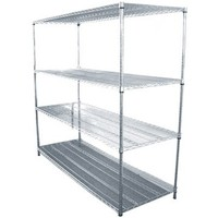 2014 hot sale Heavy Duty Kitchen Stainless Steel Wire Shelves