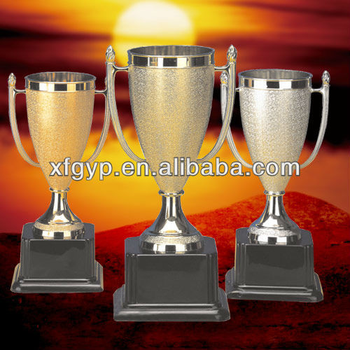 soccer/football sports plastic trophies and cups award