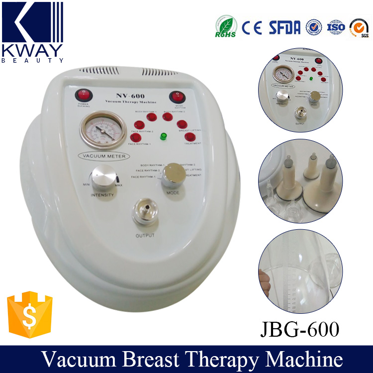 2016 Vacuum cupping therapy breast enlargement enhancement breast enlarge massager machine