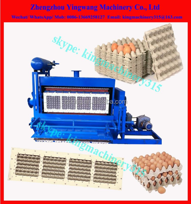 High Effiency egg tray machine india