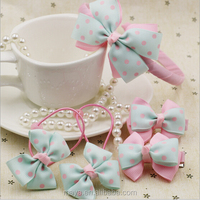2016 new fashion style elegant girl bowknot hair accessories