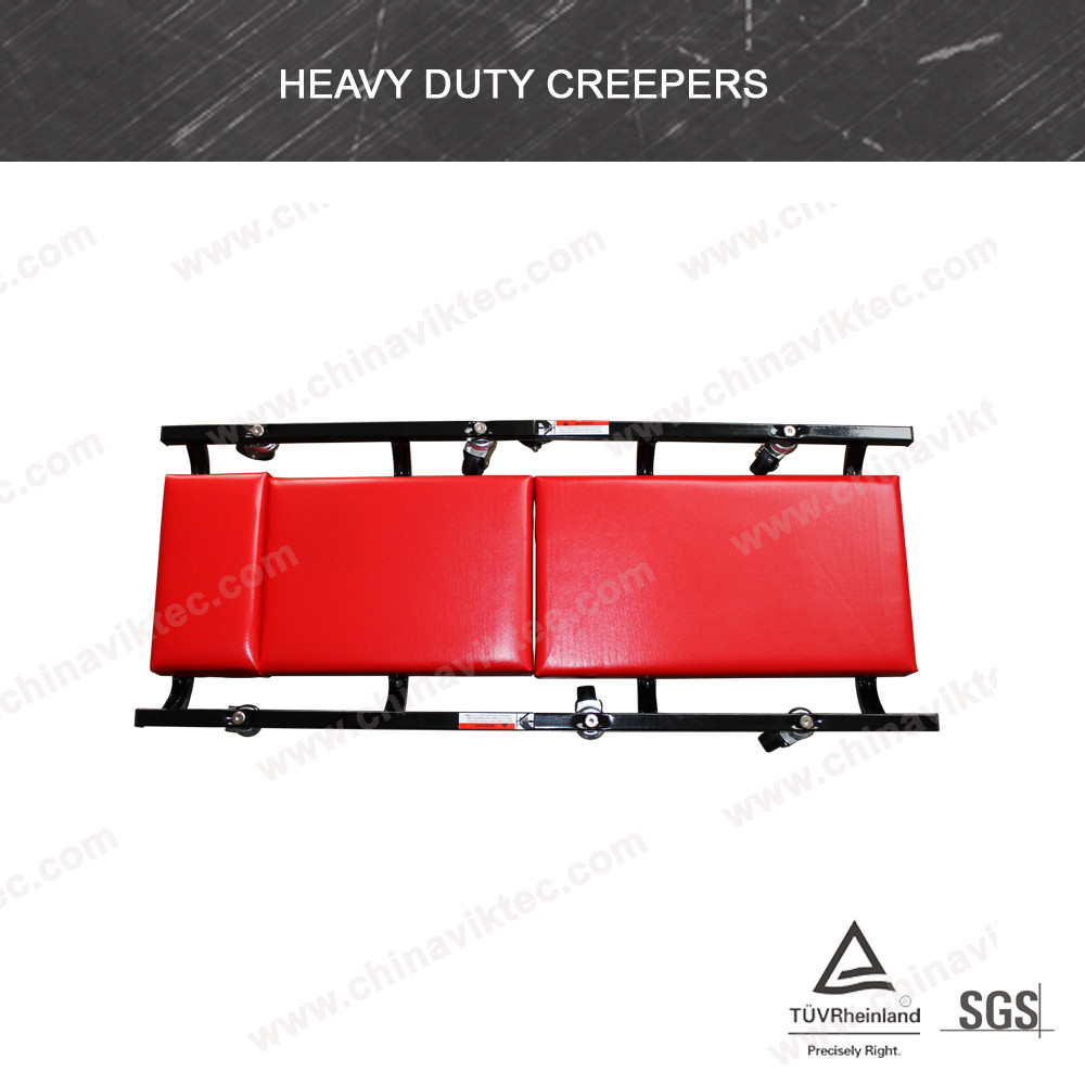920*380*105mm 6 Wheels Heavy Duty car folding creeper(VT01385)