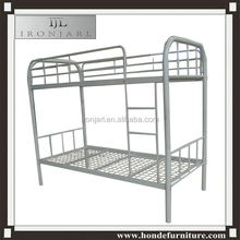 white metal frame up and down bed for school furniture