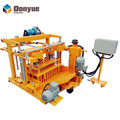 low investment environmental friendly small portable concrete block machine block plant QT40-3A