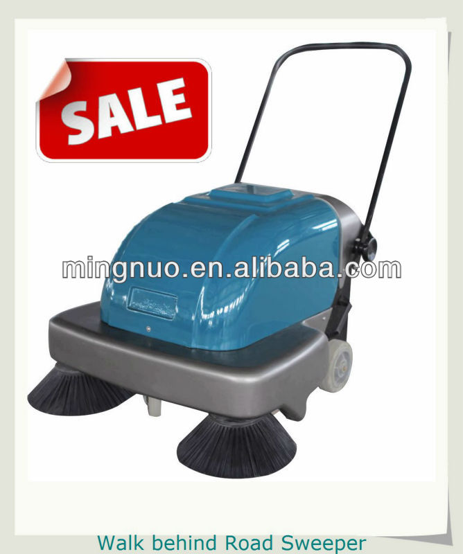automatic small sweeper, hand push sweeper/warehouse street cleaning machine/cordless sweeper