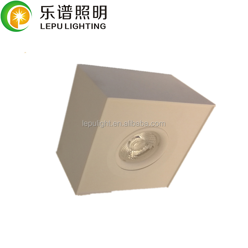 Boxy led downlight led surface mounted downlight  9w  tube downlight  5 years warranty