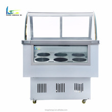 portable mini ice cream display freezer showcase to ice 6 buckets