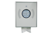 2016 wholesale price IP65 waterproof integrated solar park light with motion sensor