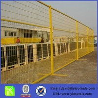 Canada type PVC coated removable fence