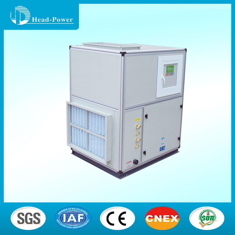 Floor Mounted Air Handler AHU for Industrial Air Conditioning Units Heating and Cooling Air Conditioner