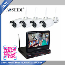 Wholesale HD 10 inch Display Screen 720P Waterproof IP66 IP surveillance outdoor wifi wireless security system cctv camera