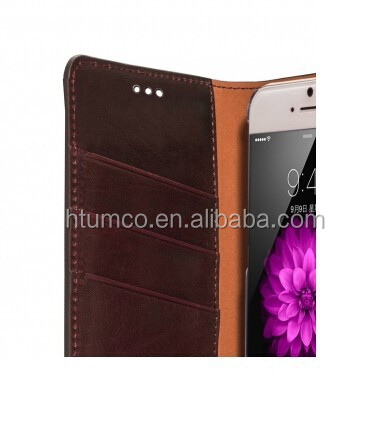 Herman Series Book Style Case,mobile phone case,Cowhide Leather case for Apple iPhone 6 4.7""