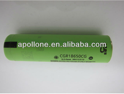 panasoni CGR18650CG 2250mah li-ion battery