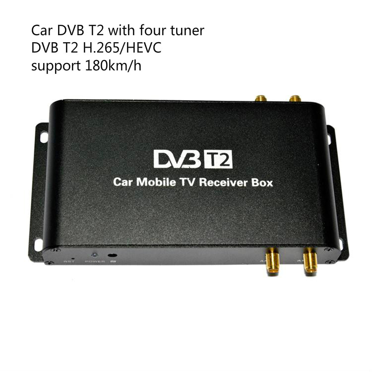 SYTA S2013C Digital h 265 dvb-t2 decoder for car with PVR Function and four tuner ,decoder H.265 HEVC use for Germany