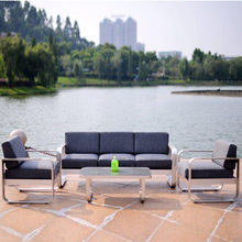 Modern garden aluminum furniture outdoor lounge chair patio sofa set