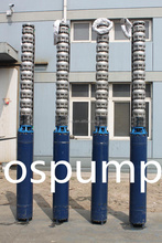 1.5 hp water submersible pump single phase 300QH series stainless steel multistage submersible pump