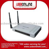11N 300M WIRELESS Router two antenna (RT3052 Chipset)With USB NAS(network storage)