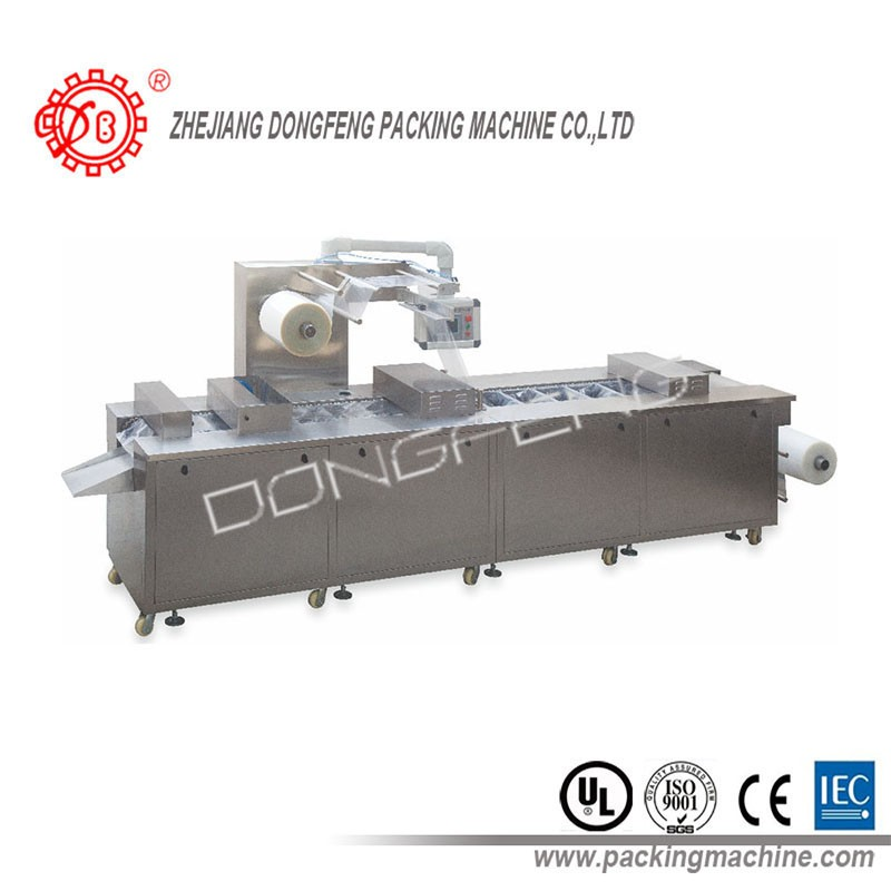 Date food tray sealing packIng thermoforming vacuum packaging machine