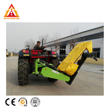 China New Design Tractor Mounted Disc Drum Mower For Cutting Rye Grass
