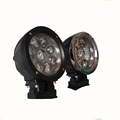 HANTU low MOQ Wholesale 12 volt car amber off road led light high brightness led work lights Truck bumper headlight