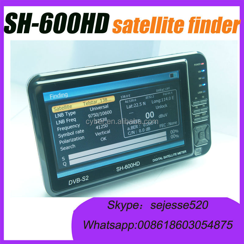 SH-600HD DVB -S2 digital satellite Meter