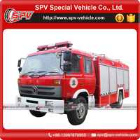 Water and Foam Tank Dongfeng Fire Fighting Truck