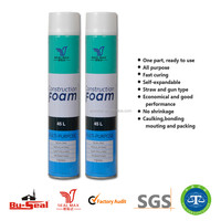 good quality 750ml pu foam spray