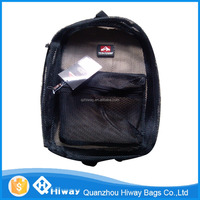 2016 new design sport cute mesh backpack with shoulder strap for promotion