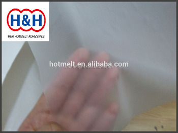 Low Melt Point Hot Melt Adhesive Film with High Bonding for Shoes