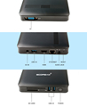 Intel N3450 MINI PC with 4GB RAM 64GB EMMC WIN10 HDMI/VGA without Fan