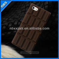 2014 new design chocolate shape mobile phone case (OBS-M4019)
