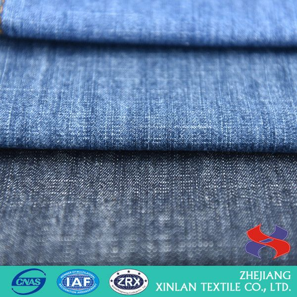 Newest selling unique design fire retardant cotton denim fabric with different size