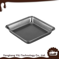 High quality carbon steel wholesale shallow baking pan