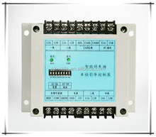 TCP/IP parking guidance zone control unit for parking system